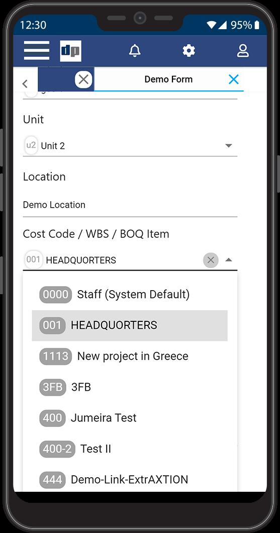 ProjectVIEW ERP Site Progress